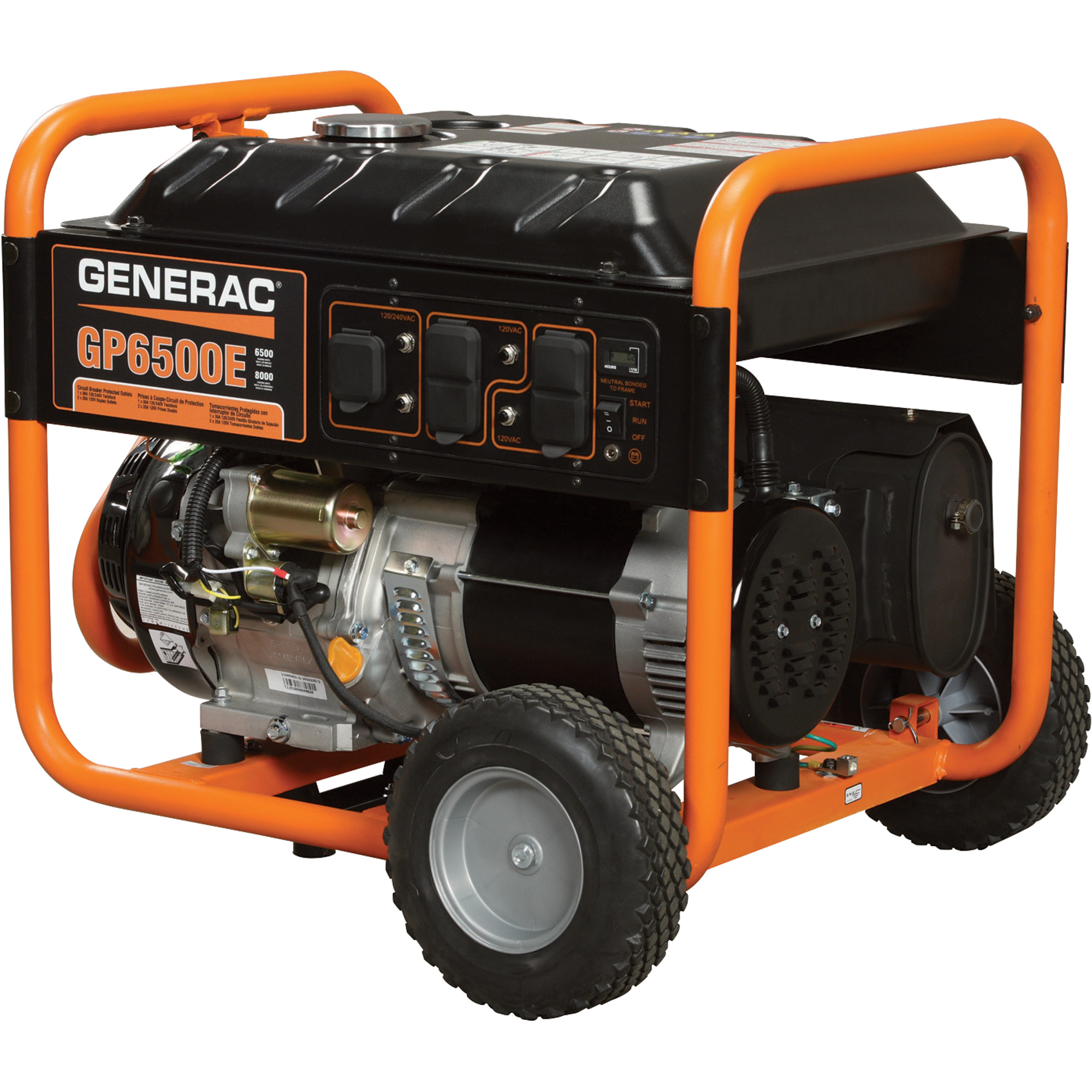 Generadores con Motor Gasolina