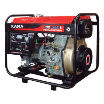 Generadores con Motor Diesel