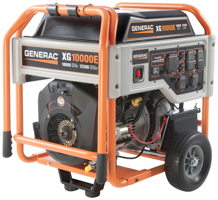 Generadores con Motor de Gasolina de 8,000 - 22,500 W